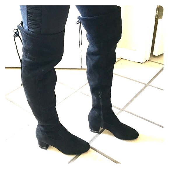 ever popular release date: top brands MK Thigh high boots